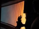 Lindo pôr do sol numa janela Matinhense