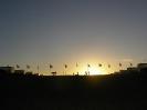 O pôr do sol no Congresso Nacional