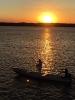 O pôr do sol no Rio Paraíba na Praia do Jacaré ao som do Bolero de Ravel