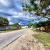 Temporal ao fim do dia em Pontal do Paraná